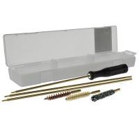 Набор для чистки, калибр 5,6 мм (латун. шомпол, 3 ерша, пласт. коробка)