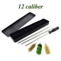 Набор для чистки 12 калибр (алюм. шомпол, 3 ерша, пластиковая коробка)