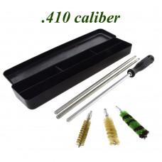 Набор для чистки 410 калибр (алюм. шомпол, 3 ерша, пластиковая коробка)