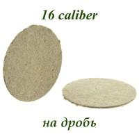 Прокладка карт. на дробь (300 шт, 16 калибр)