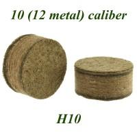 Пыж ДВП основной осал. H10 (200 шт, 12 калибр лат/г)