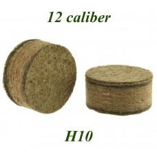 Пыж ДВП основной осал. H10 (200 шт, 12 калибр)