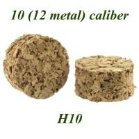 Пыж пробковый H10 12клб. лат/гильза (уп.80шт.)