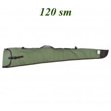Чехол брезентовый для 2-х ствольного ружья в сборе, длина 120см